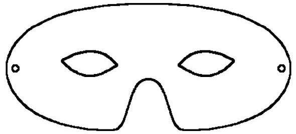 Free Printable Mask Template