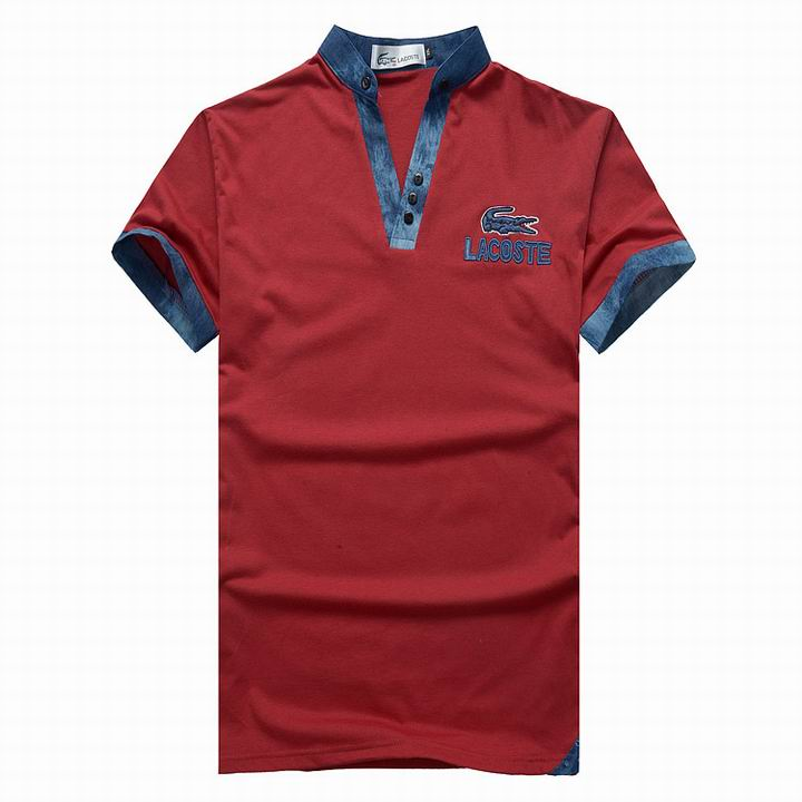 Lacoste Polo Shirt For Men Sale In Red Sale