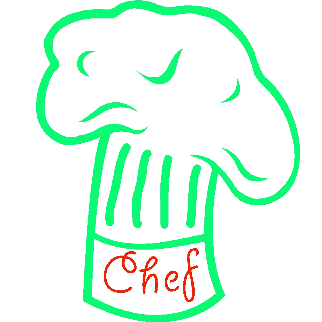 Chef hat templatePink Chef Hat Clip Art