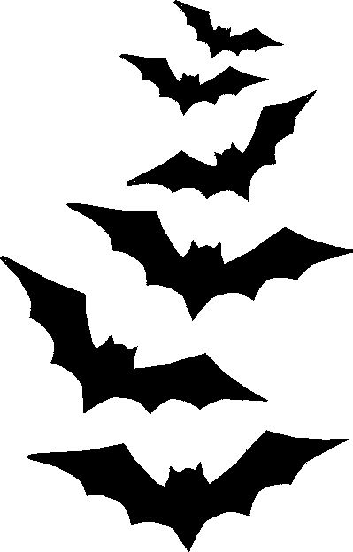 Divine image for bat stencil printable