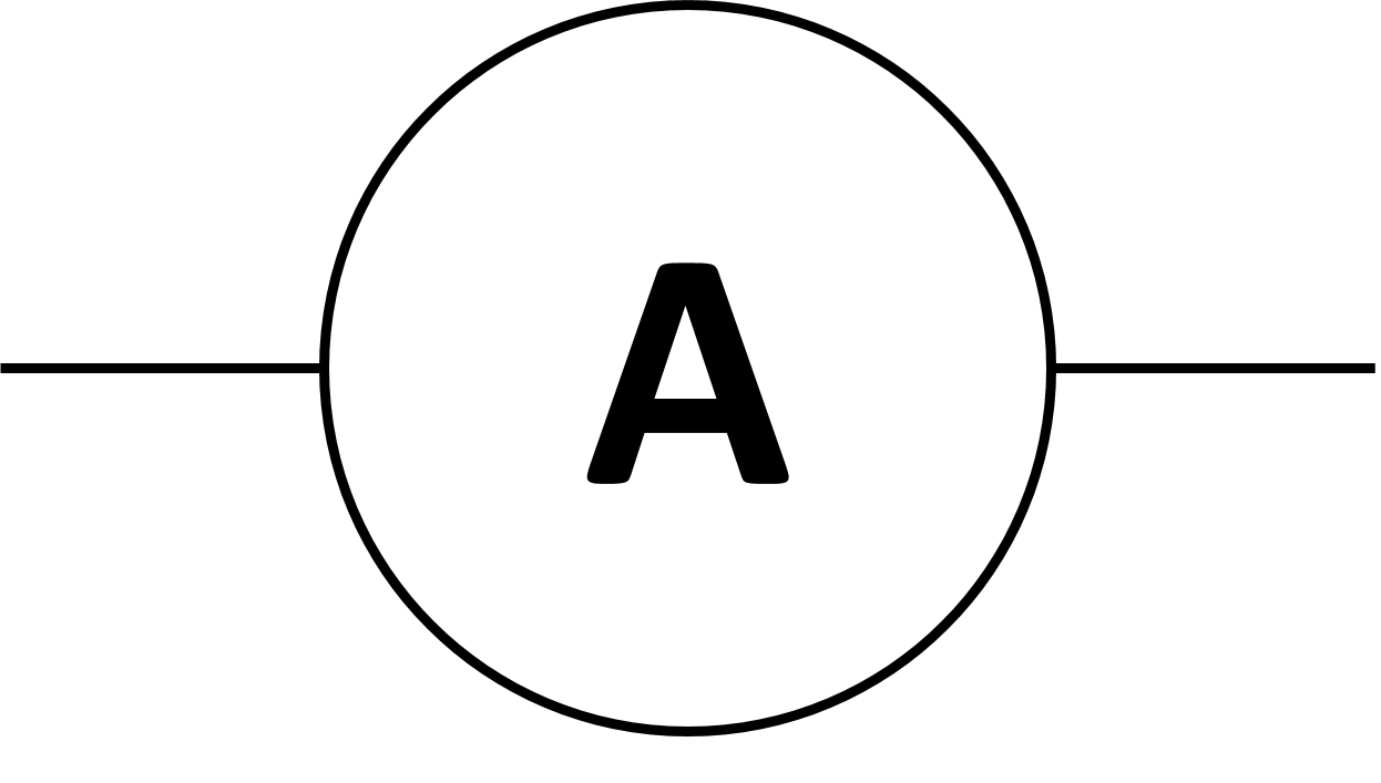 Symbol For Ammeter - ClipArt Best