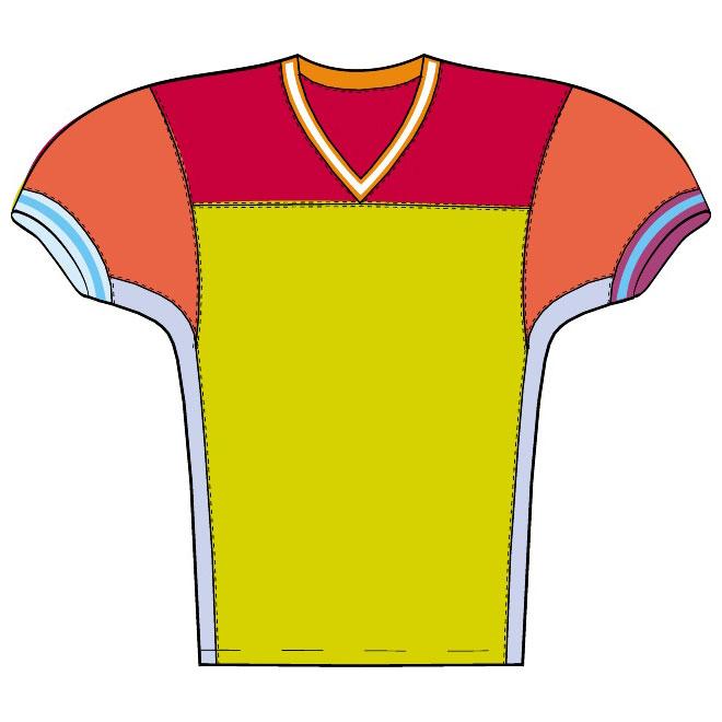 clipart football shirts - photo #38
