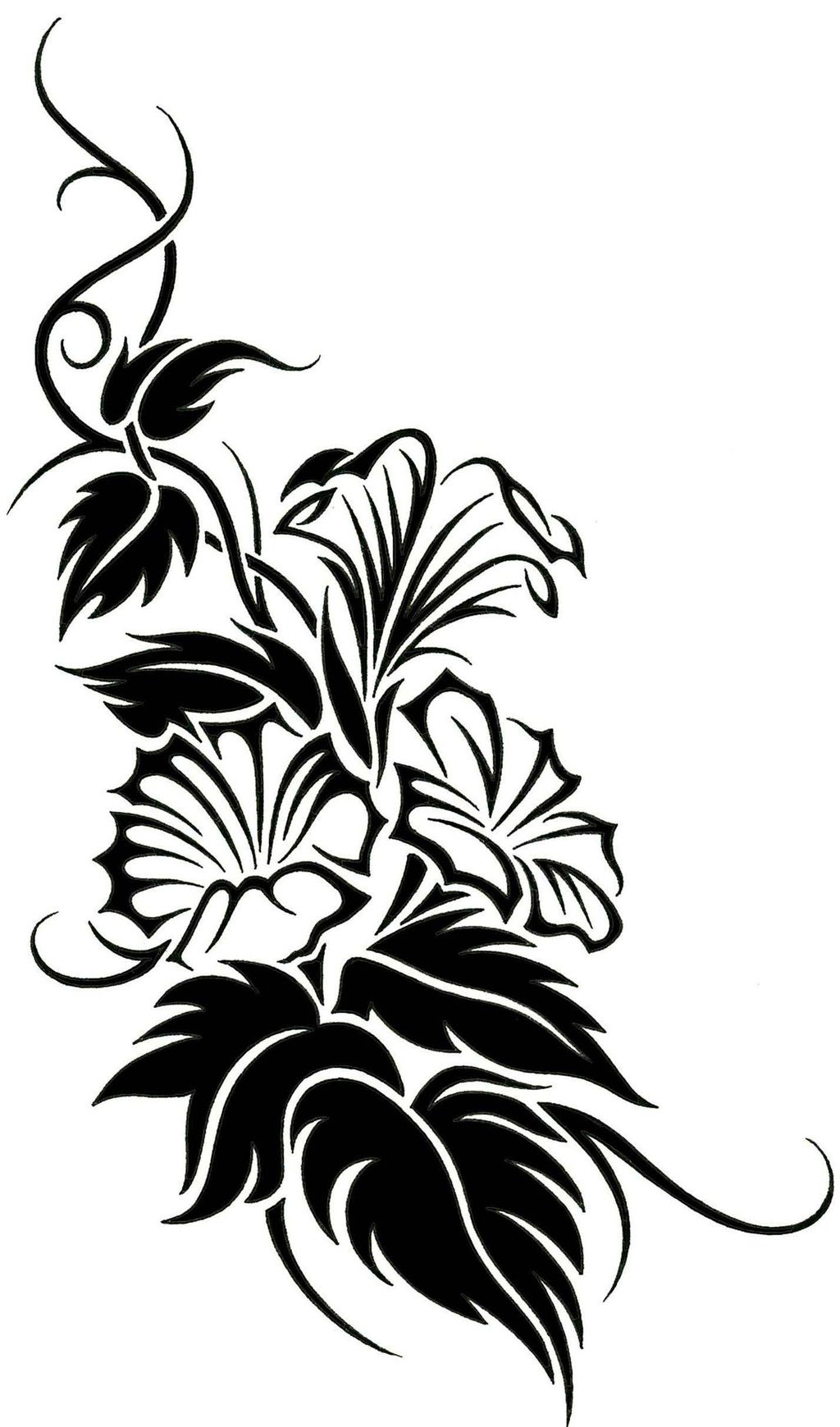 rose vine drawing designs clipart best