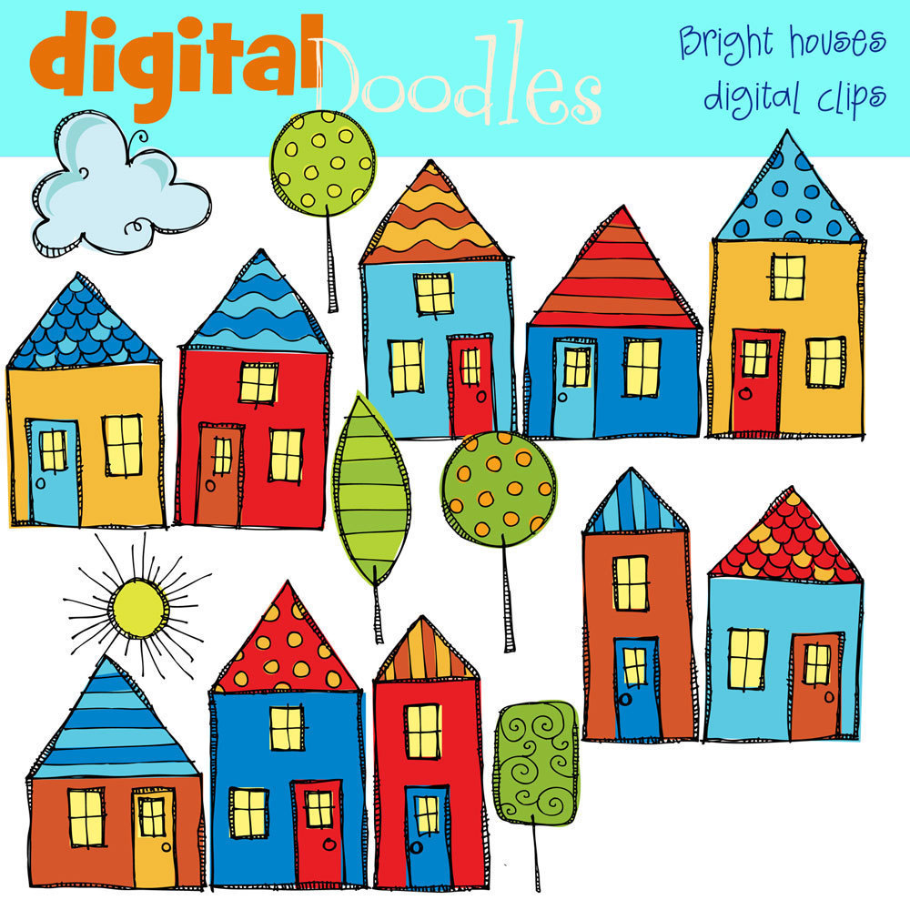 Remarkable Free Clip Art Of Houses Clipart Best Largest Home Design Picture Inspirations Pitcheantrous