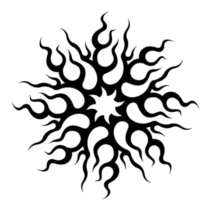 Black And White Tribal Tattoo Designs ClipArt Best