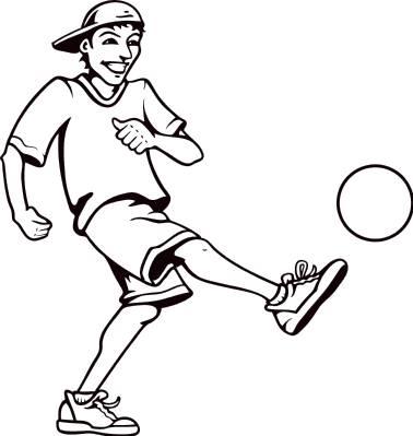Sports & Athletics - Kickball Clip Art