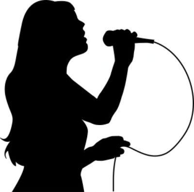 Girl Singer - ClipArt Best