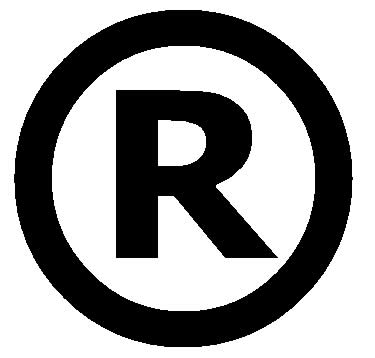 Registered Trademark Logo Font
