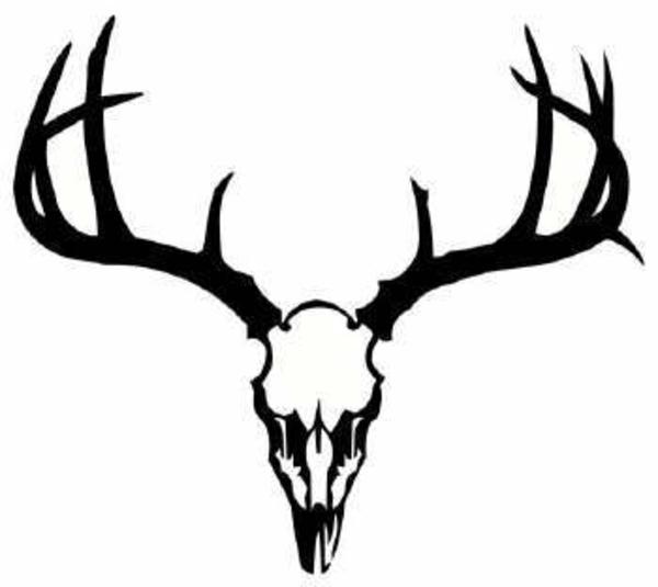 free deer head silhouette clip art - photo #20