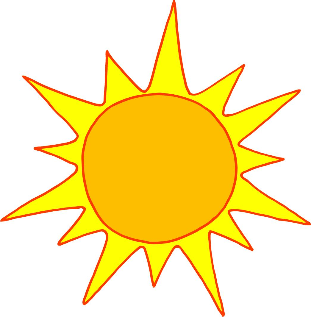 Yellow Sun Clipart - Viewing Gallery