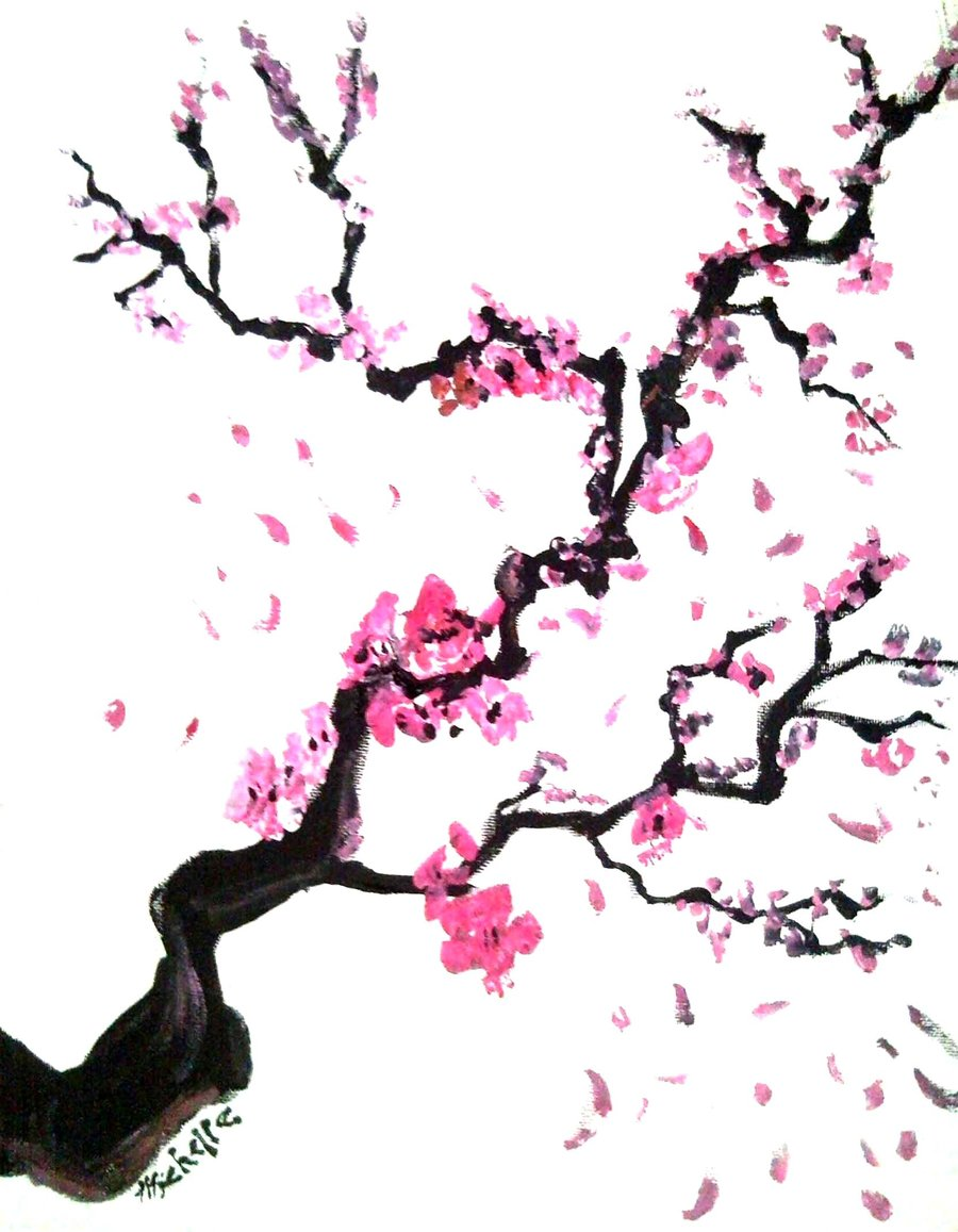 Cherry Wallpaper | Cherry Blossom Tree Branch Clip Art ...