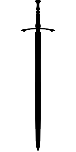 Sword Silhouette - ClipArt Best
