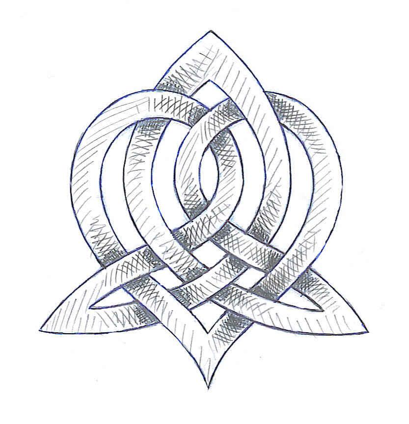 Символ вселенной тату