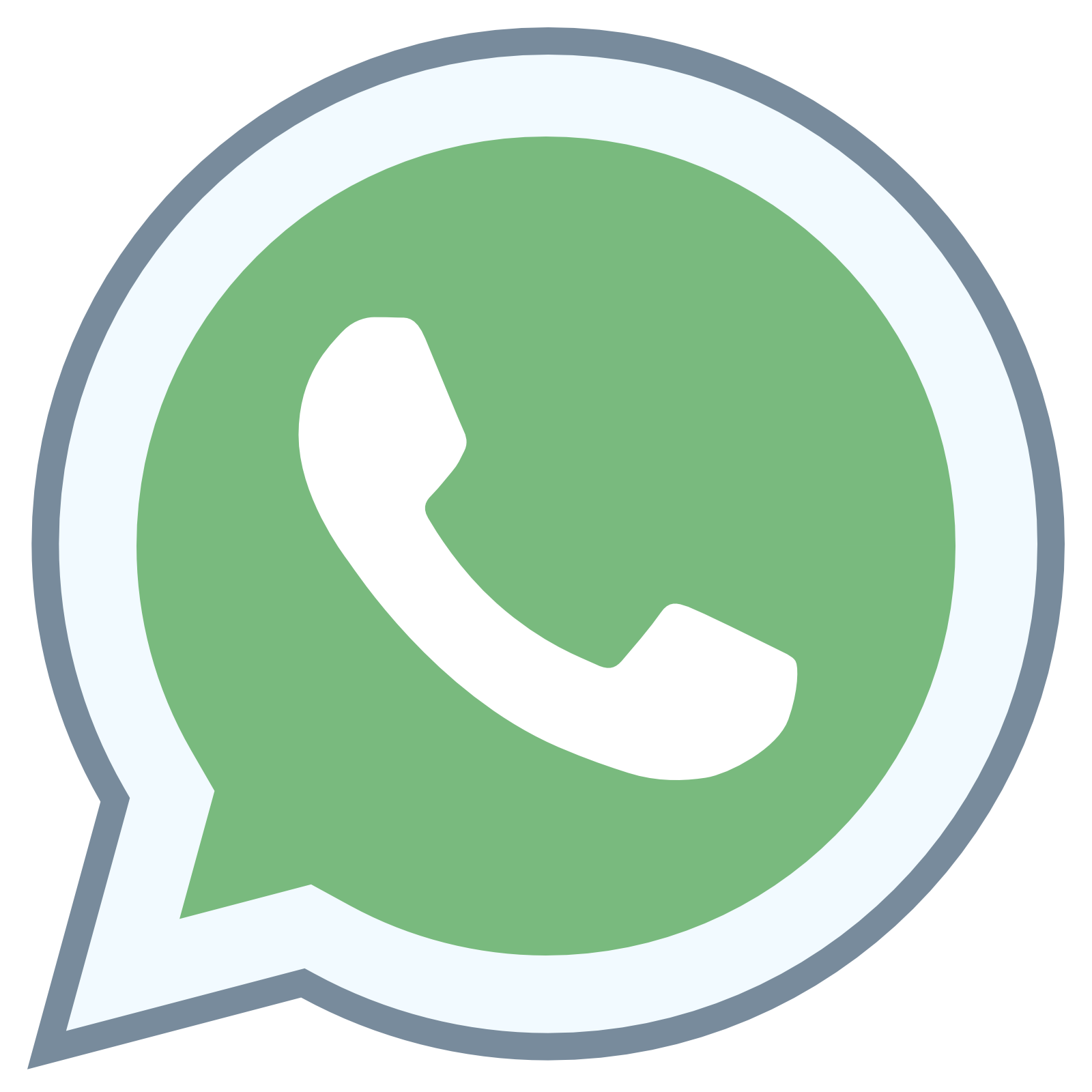 WhatsApp Icon - Free Download at Icons8