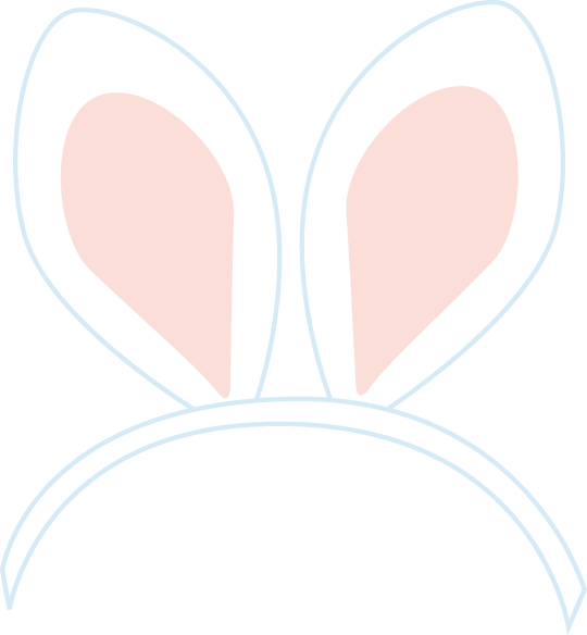 Easter Bunny Ears Png Quotes Trending Space Clipart