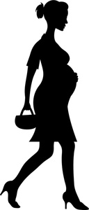 Mother Silhouette Clip Art - Free Clipart Images