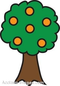 Orange Tree Cartoon - ClipArt Best