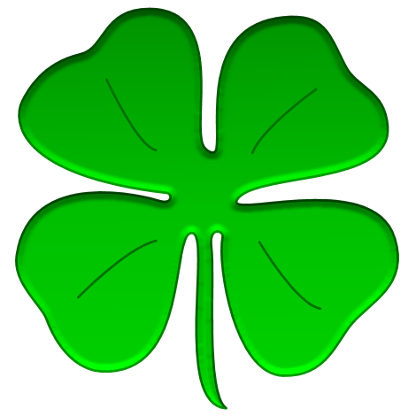 Free Shamrock Clip Art Border - Free Clipart Images