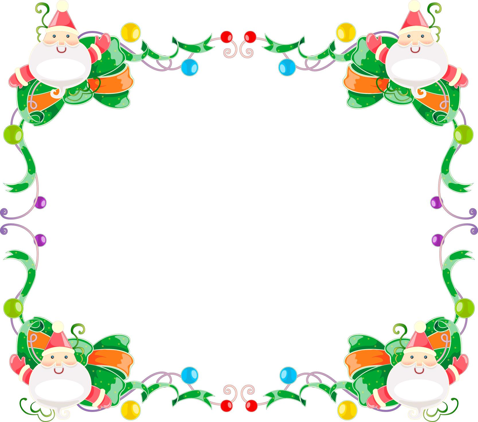 clipart xmas borders - photo #39