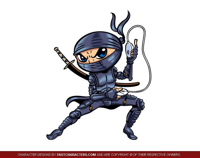 cartoon ninja clip art - photo #42
