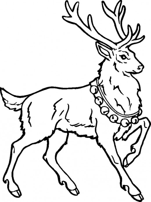 Online Rudolph and other Reindeer Printables and Coloring Pages ...