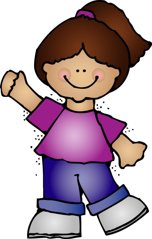 Kindergarten Clip Art: Line Leader Picture Preschool Clip Art