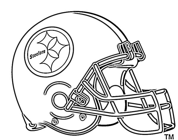 Helmet Outline Outline · Football Helmet