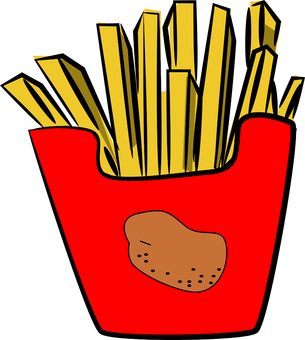 French Fries Clipart - ClipArt Best