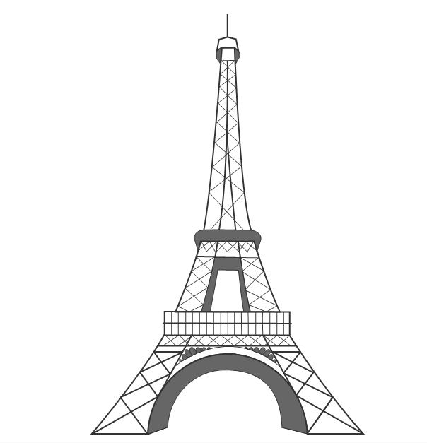 Dibujos de torre eiffel - Imagui - ClipArt Best - ClipArt Best