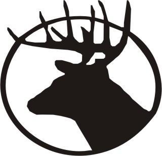 Buck head cartoon