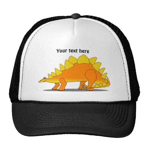 cute_stegosaurus_dinosaur_cartoon_template_hats ...