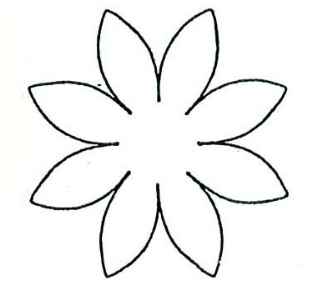 Daisy Template | Free Download Clip Art | Free Clip Art | on ...