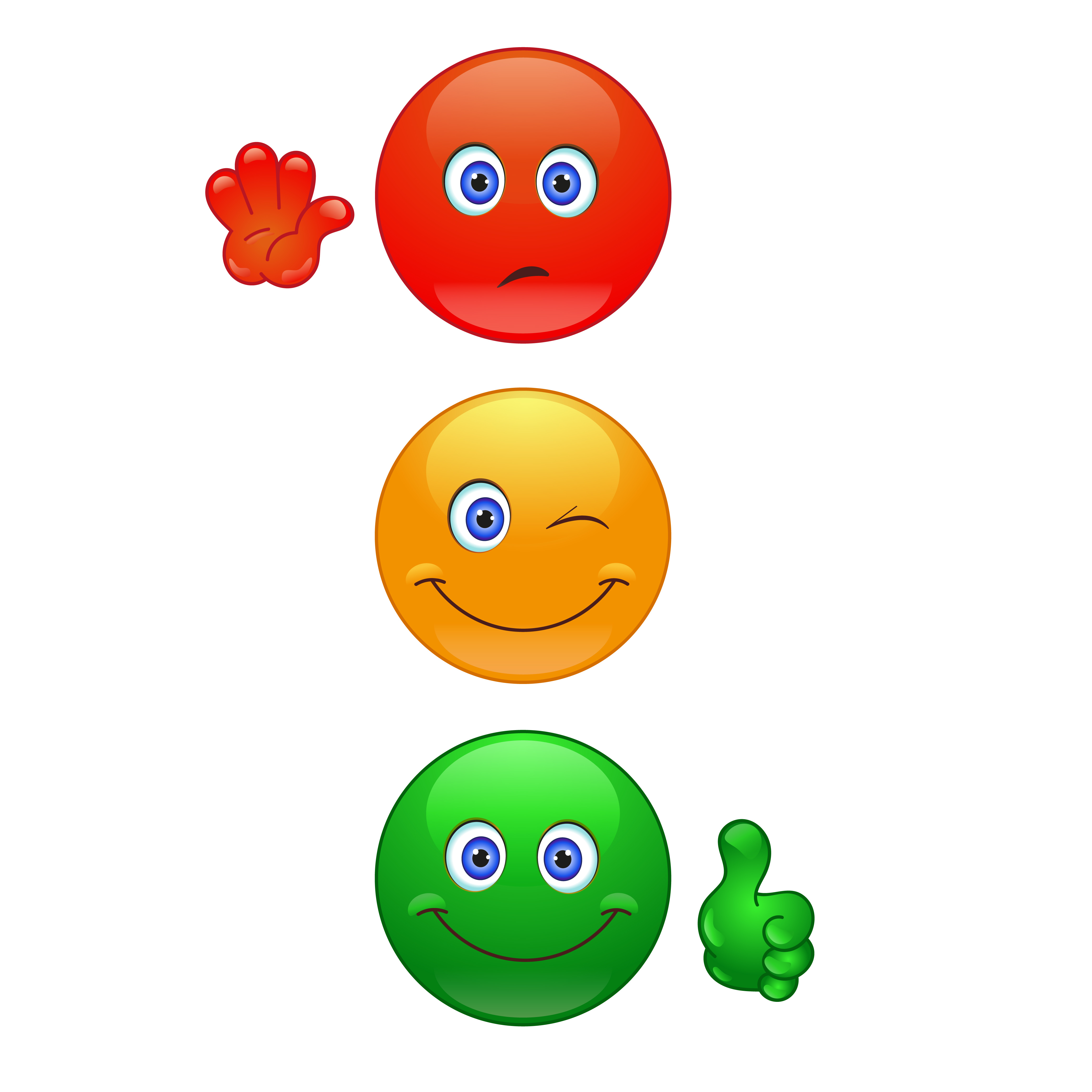 cartoon traffic light clipart best free animated smiley face clip art Winking Smiley Face Clip Art