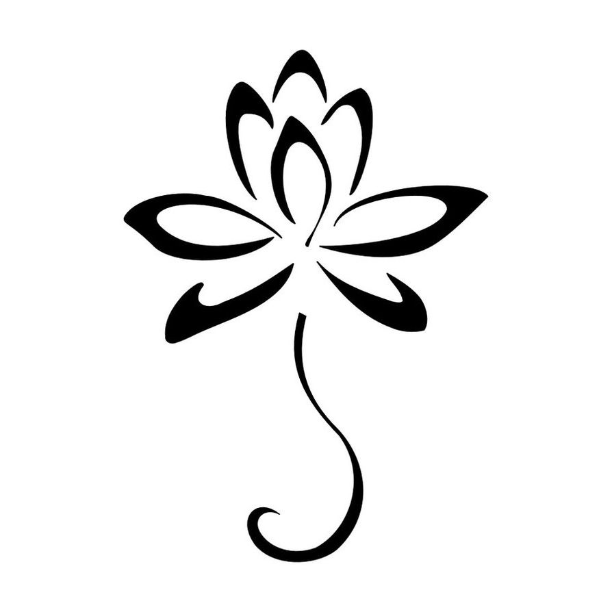 Simple Flower Design - ClipArt Best