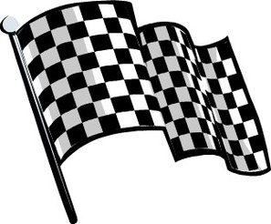 Crossed Checkered Flags Clip Art Clipart - Free to use Clip Art ...