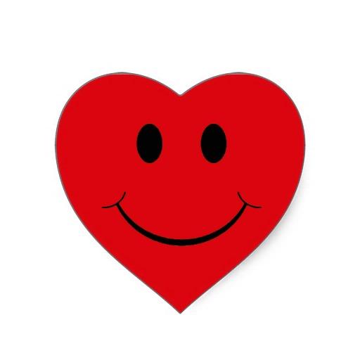 Smiley Heart Clipart Best