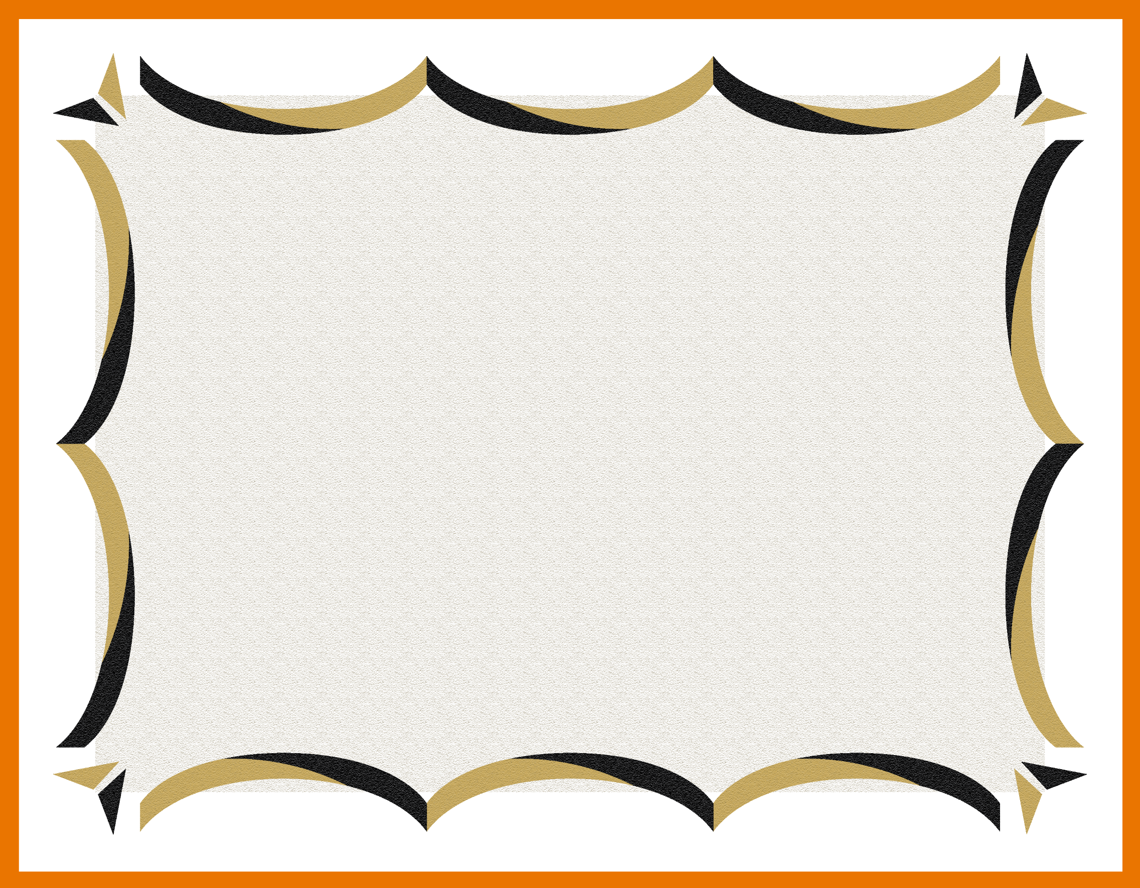 gold certificate borders templates clipart best