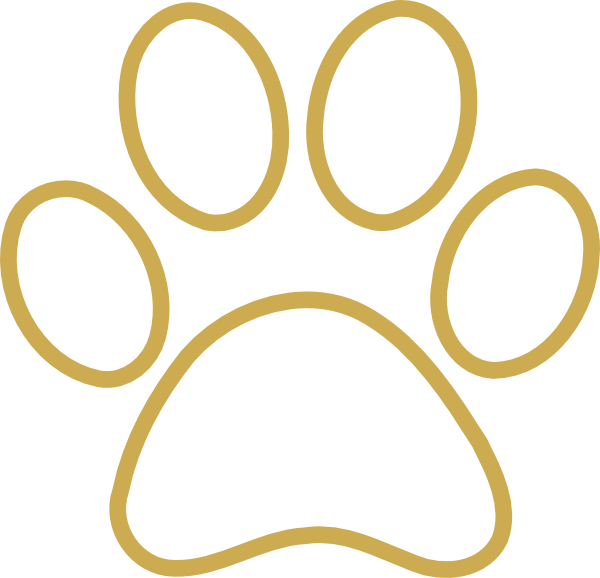 tiger paw outline