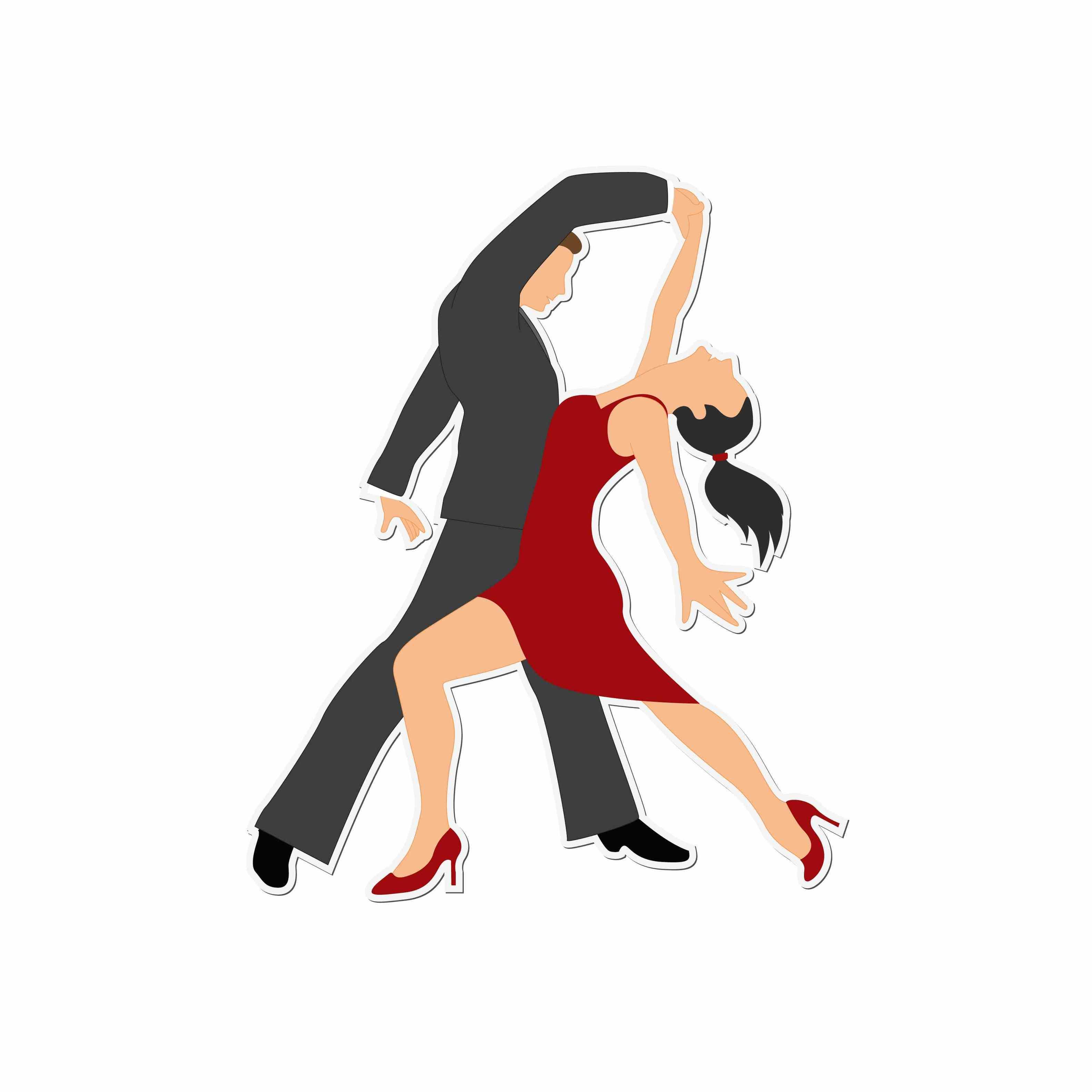 Cartoon Ballroom Dancers - ClipArt Best