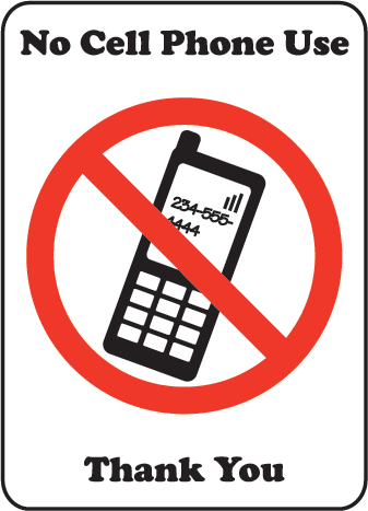 No Cell Phone Signs Free - ClipArt Best