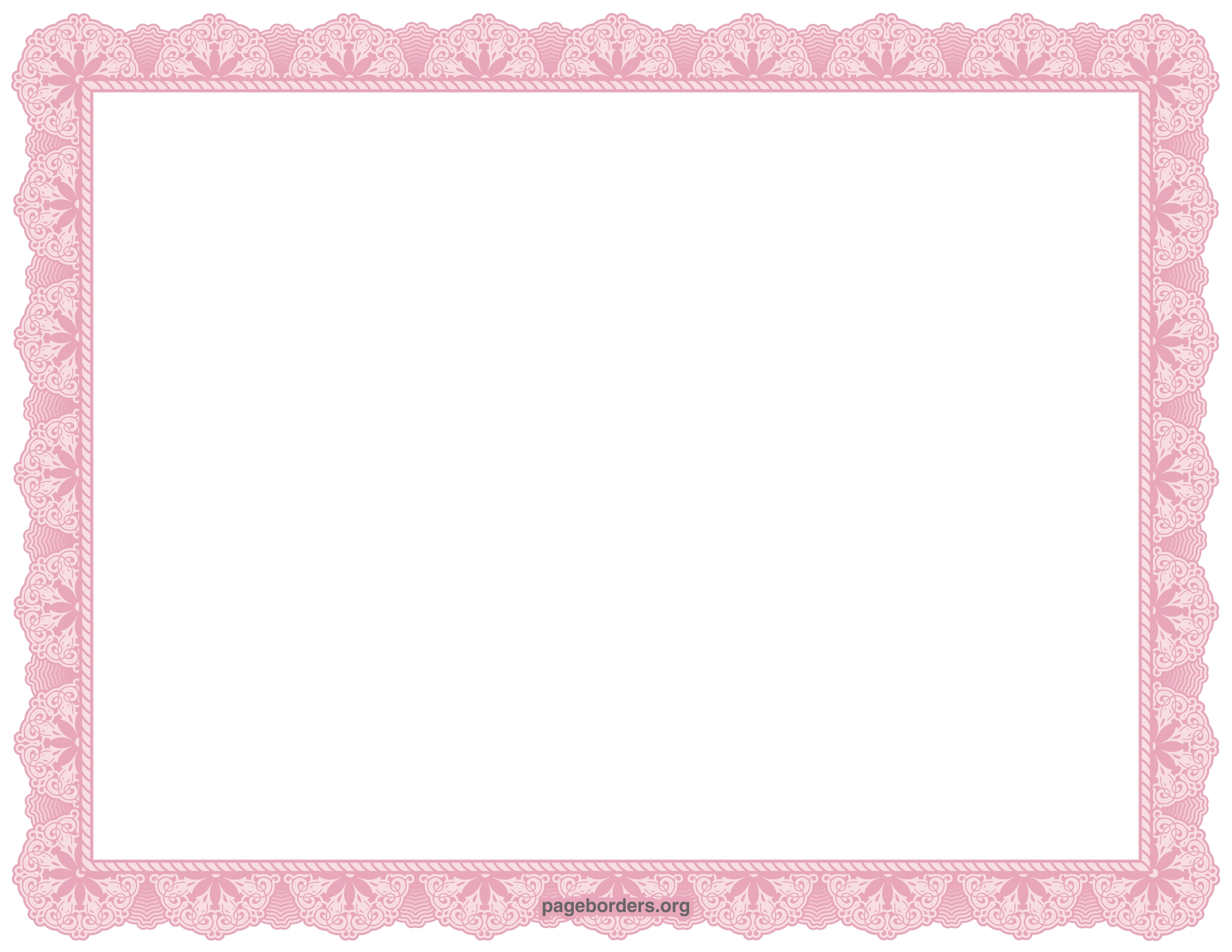 Certificates borders free download clipart best for Certificate border vector