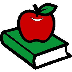 Books Free Clipart Apple - ClipArt Best