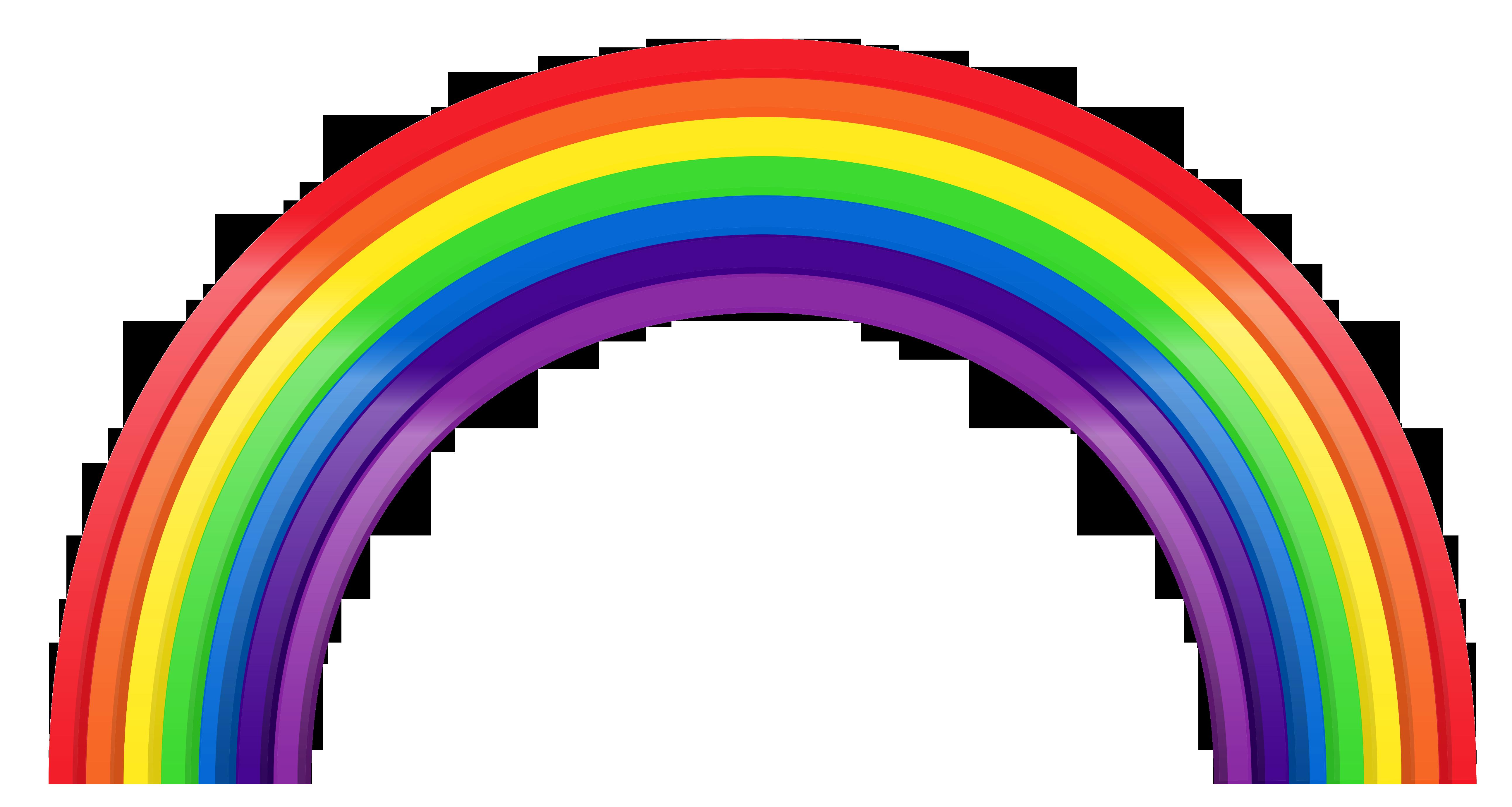 Rainbow Png - ClipArt Best