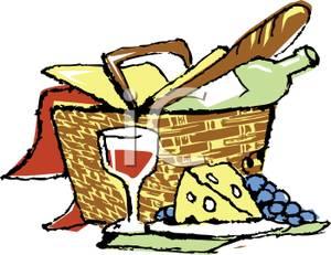Clip Art Picnic Basket Clip Art picnic basket clip art clipart best food clipart