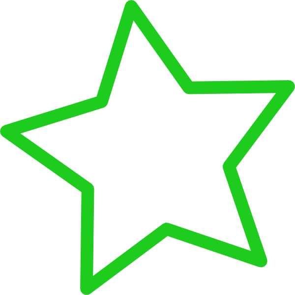 Lime Green Star Clipart - ClipArt Best