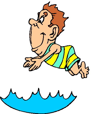 Image of Cartoon Person Swimming #5953, Cartoon Swimming - Clipartoons