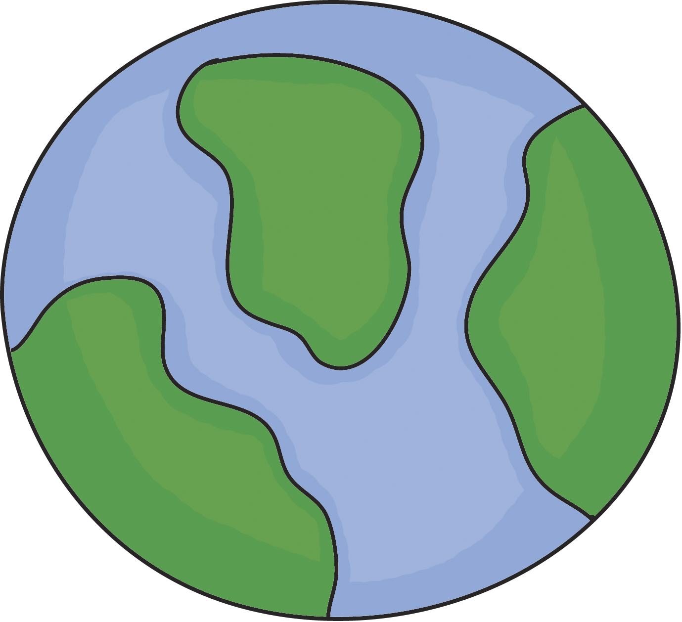 Planet Earth Image For Drawing - ClipArt Best