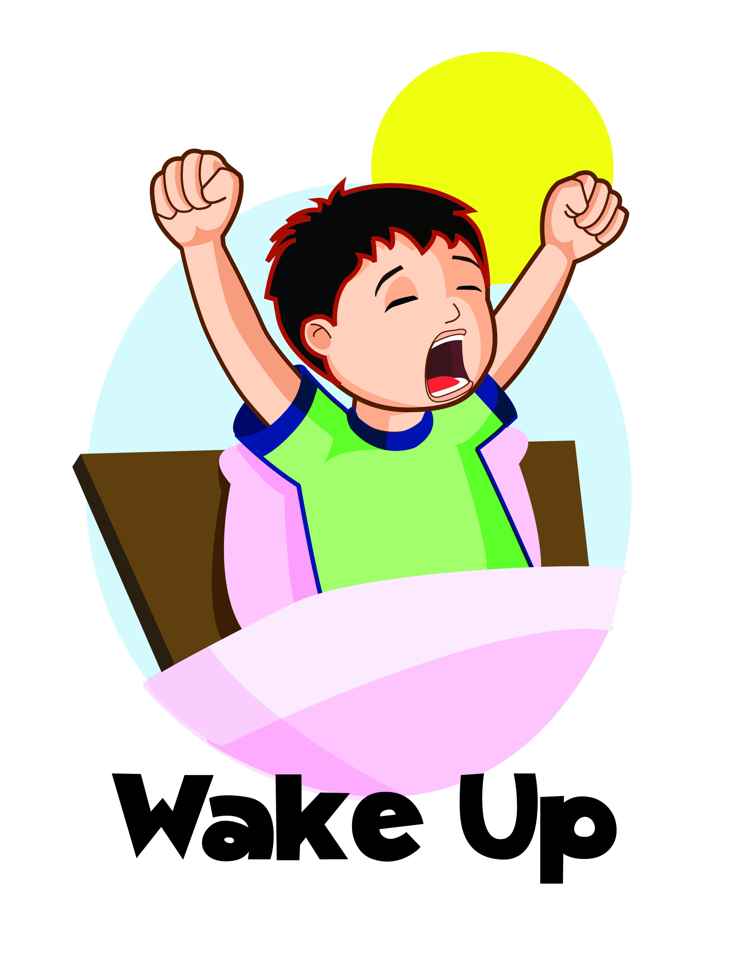 Wake Up Clip Art - ClipArt Best