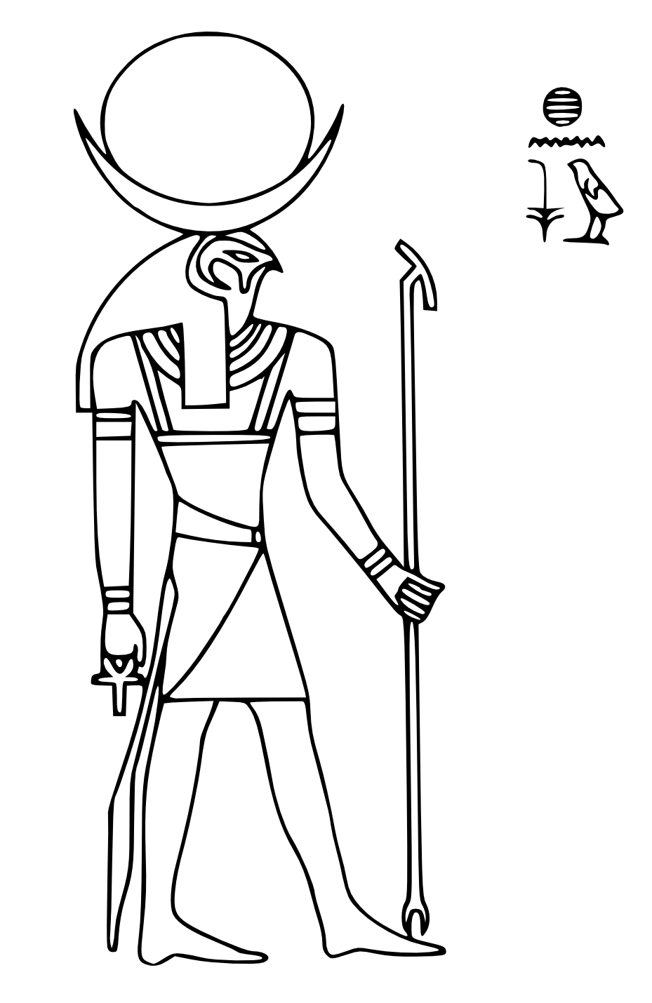 ra coloring book pages - photo #39