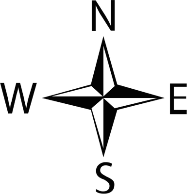 North Arrow 1 - Most viewed - Vector Illustration/Drawing/Symbol ...